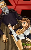 The toughest gay men from Star Wars toon shagging