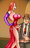 Matchlessly feminine Jessica Rabbit uncovers her e