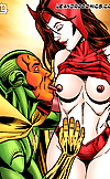Pussy and tit licking superheroes