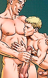 Two guys get it on Adult Gay Comics