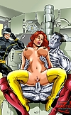 Hot stacked superhero babes from The Avengers love