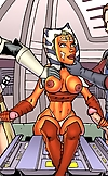 Hottie from Star Wars: The Clone Wars giving great