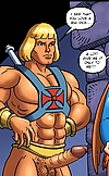 Porn He-Man jams his mighty love club into his slu