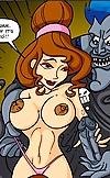 Porn Megara takes Hades's huge evil cock where the