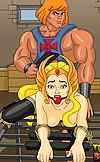 He-Man and She-Ra getting their portions of porn d