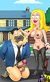 American Dad gets trampled and ass-fucked by his d